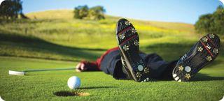 Golfer-hurt